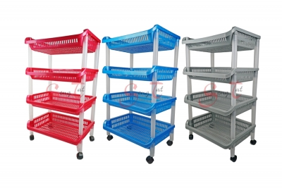 4 Tier Placer Trolley, Code: 995-4