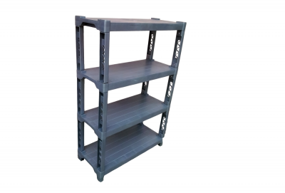 4 Tier Plastic Shelf, Code: 893-4
