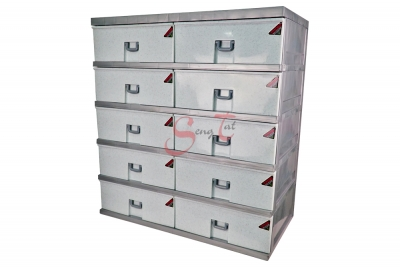 10 Drawers Storage Cabinet, Code: 922-5