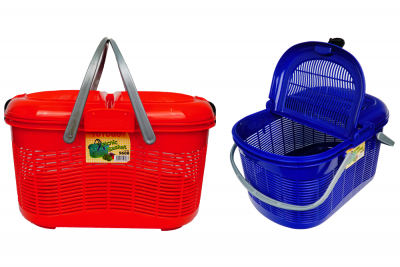 Carrier Basket with Cover (Code: 9608)