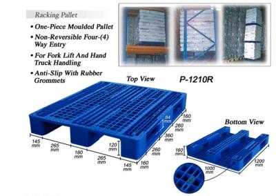 Plastic Pallet (Code: P1210-R)