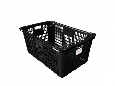 Vegetable and Fruit Crate, Code: ID 4718 (Black)