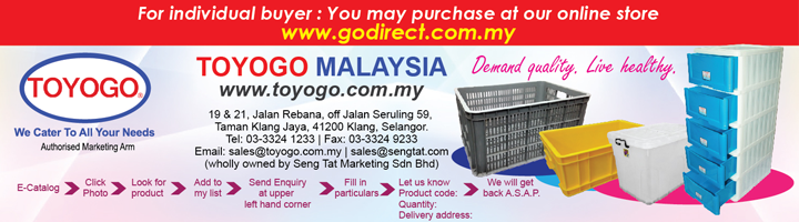Plastic Wares Malaysia,Toyogo Plastic Products,Plastic