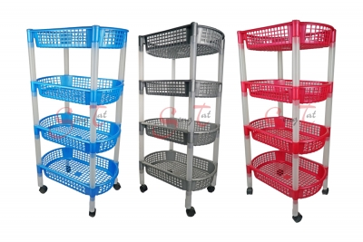 4 Tier Placer Trolley, Code: 886-4