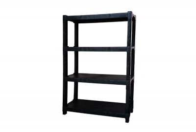 4 Tier Plastic Shelf, Code: 891-4