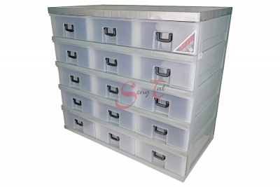 15 Drawers Storage Cabinet, Code: 921-5