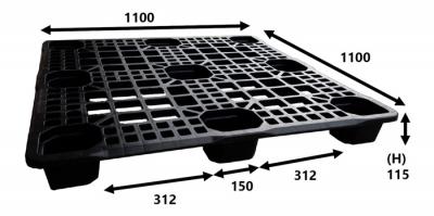Plastic Pallet (Code: P7783-E)