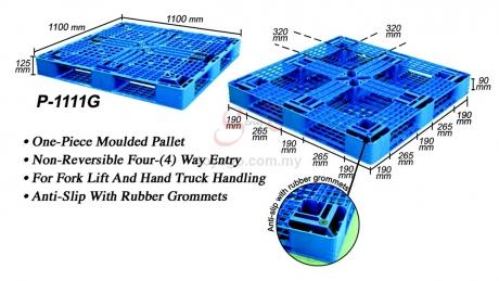 Plastic Pallet (Code: P1111-G)